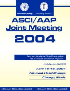 2004 Joint Meeting program