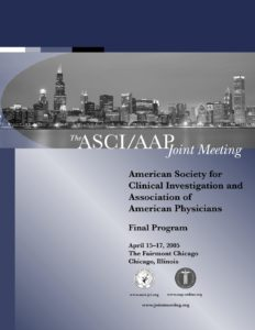 2005 Joint Meeting program