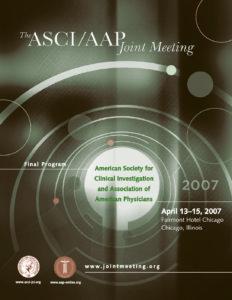 2007 Joint Meeting program