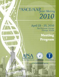 2010 Joint Meeting program