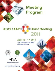 2011 Joint Meeting program
