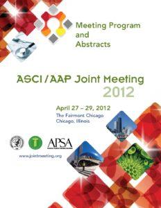 2012 Joint Meeting program