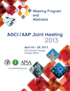 2013 Joint Meeting program