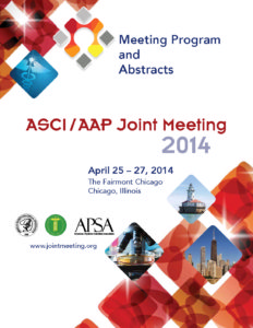 2014 Joint Meeting program