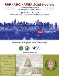 2016 Joint Meeting program